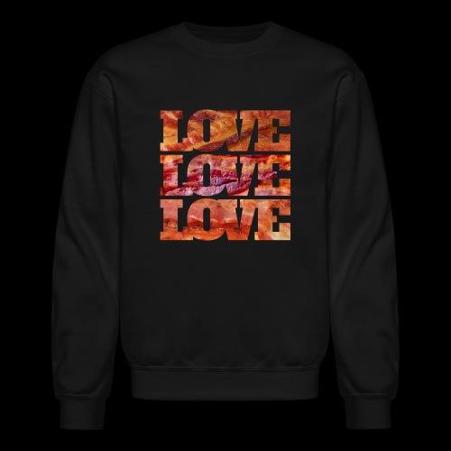 BACON LOVE - Crewneck Sweatshirt