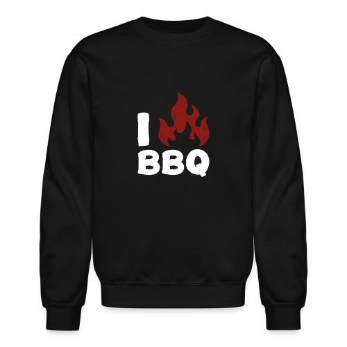 I Heart BBQ - Unisex Crewneck Sweatshirt