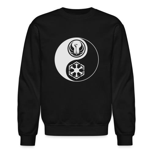 Star Wars SWTOR Yin Yang 1-Color Light - Unisex Crewneck Sweatshirt