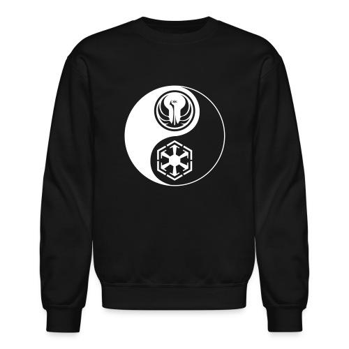 Star Wars SWTOR Yin Yang 1-Color Light - Crewneck Sweatshirt
