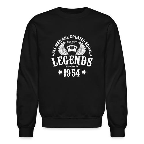 Legends are Born in 1954 - Crewneck Sweatshirt