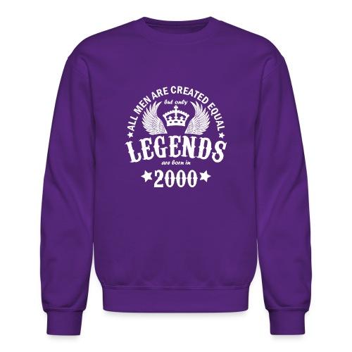 Legends are Born in 2000 - Crewneck Sweatshirt