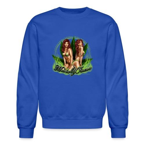 Maria y Juana by RollinLow - Crewneck Sweatshirt