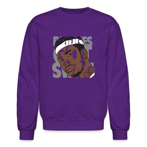 Men's Hoodie - #BridgesGotSwag - Crewneck Sweatshirt