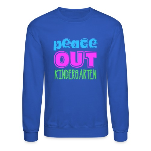 Kreative In Kinder Peace Out - Crewneck Sweatshirt
