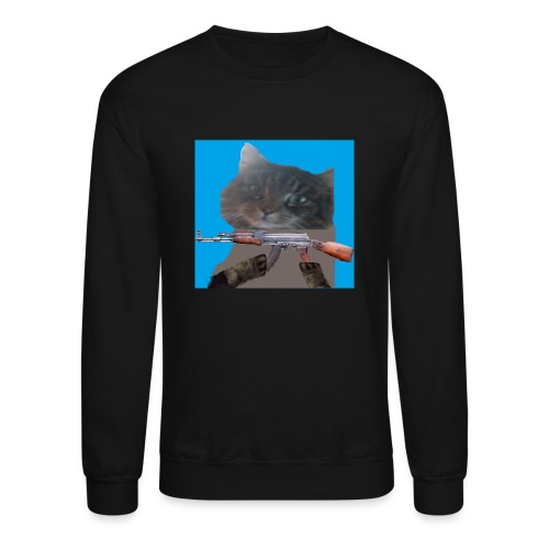 cat - Crewneck Sweatshirt