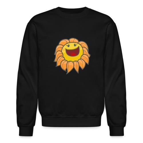 Happy sunflower - Crewneck Sweatshirt