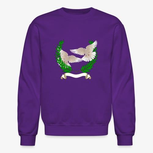 OLIVE BRANCH DOVES - Crewneck Sweatshirt