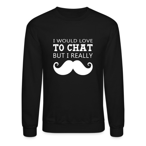Moustache - Crewneck Sweatshirt