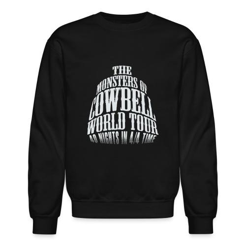 monstersofcowbellfront - Crewneck Sweatshirt