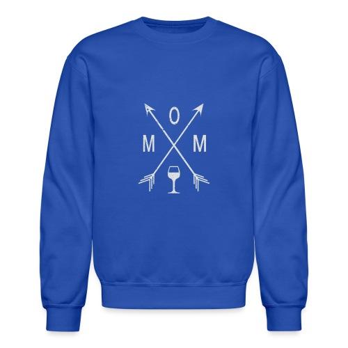 Mom Wine Time - Crewneck Sweatshirt