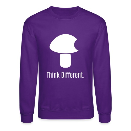 Think Different. - Unisex Crewneck Sweatshirt