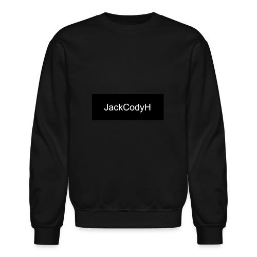 JackCodyH black design - Unisex Crewneck Sweatshirt