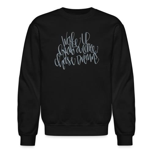 thick wake up - Crewneck Sweatshirt