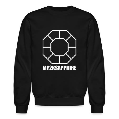 Unisex White Sapphire Hoodie - Crewneck Sweatshirt