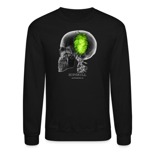 HOPSKULL Men's 3XL/4XL Hooded Sweatshirt - Crewneck Sweatshirt