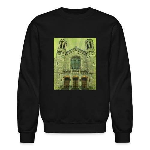 Green gothic cathedral - Crewneck Sweatshirt