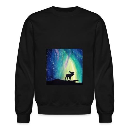 Night Moose - Unisex Crewneck Sweatshirt