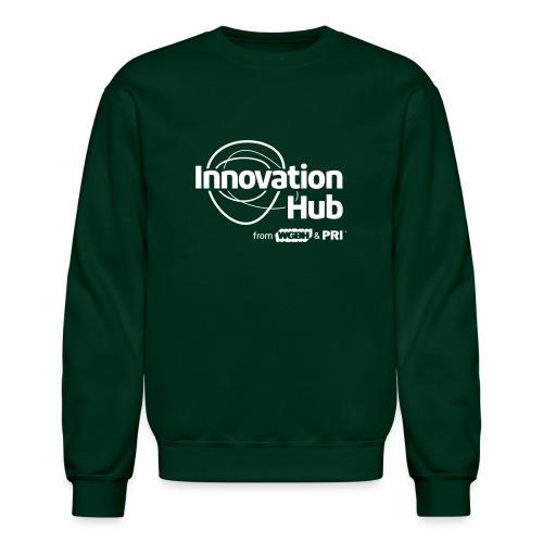 Innovation Hub white logo - Unisex Crewneck Sweatshirt