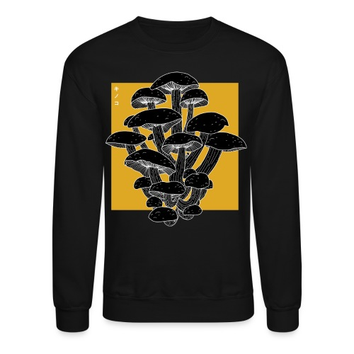 shrooms 2 edited 1 - Crewneck Sweatshirt