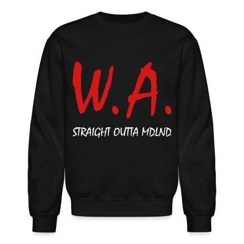 Straight Outta MDLND - Unisex Crewneck Sweatshirt