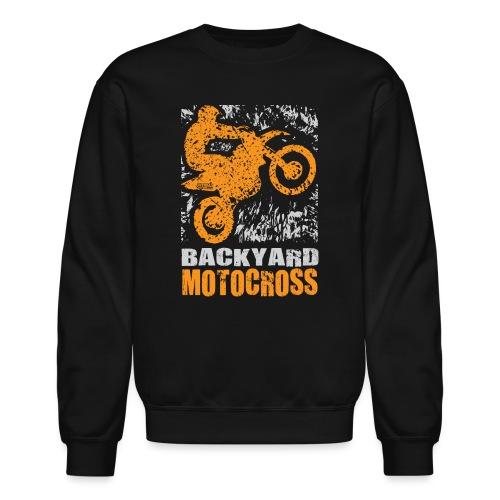 Motocross Backyard Orange - Crewneck Sweatshirt