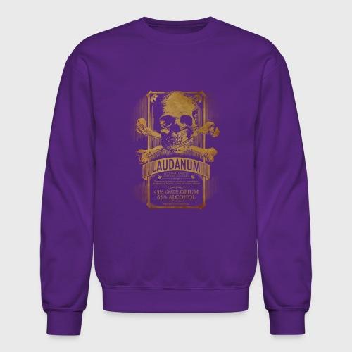 Laudanum Goth Steampunk Medical Doctor - Crewneck Sweatshirt