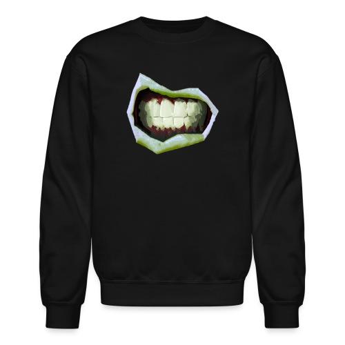 2 Mouth3temp png - Crewneck Sweatshirt