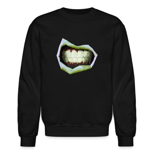 2 Mouth3temp png - Unisex Crewneck Sweatshirt