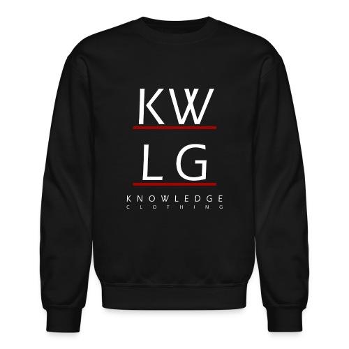 logo2allwhite png - Crewneck Sweatshirt
