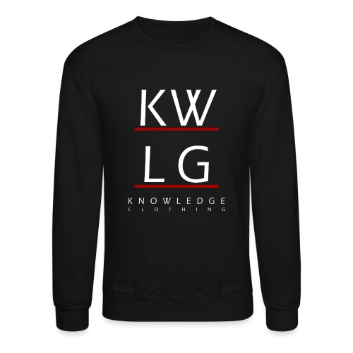 logo2allwhite png - Unisex Crewneck Sweatshirt