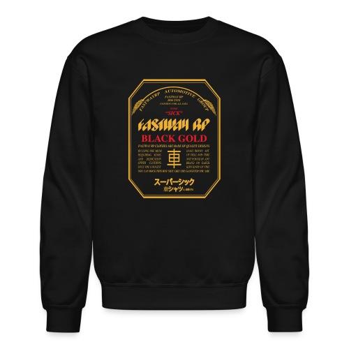 Fastway Beer Can Black Gold - Unisex Crewneck Sweatshirt