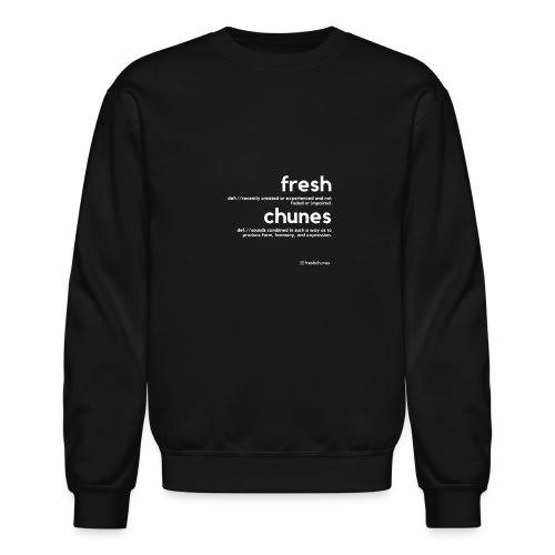 Clothing for All Urban Occasions (Bk+Wt) - Unisex Crewneck Sweatshirt