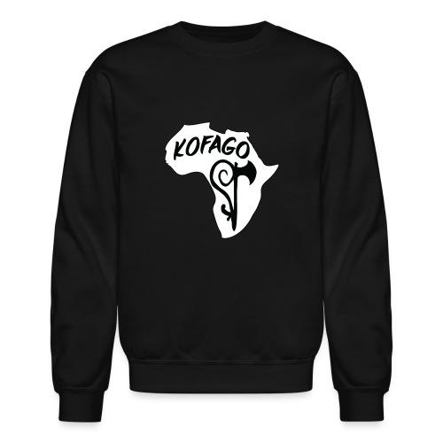 Kofago Logo Inverted - Unisex Crewneck Sweatshirt