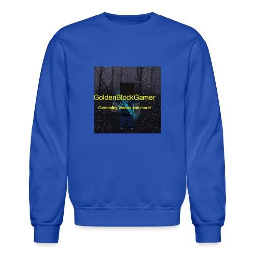 GoldenBlockGamer Tshirt - Crewneck Sweatshirt