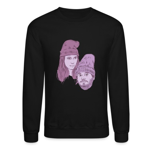 Hila and Ethan from h3h3productions - Unisex Crewneck Sweatshirt