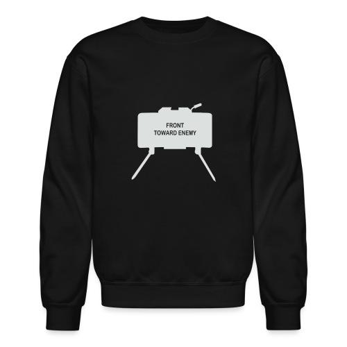 Claymore Mine (Minimalist/Light) - Unisex Crewneck Sweatshirt