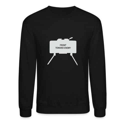 Claymore Mine (Minimalist/Light) - Unisex Crewneck Sweatshirt