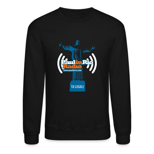 Paul in Rio Radio - The Thumbs up Corcovado #2 - Crewneck Sweatshirt