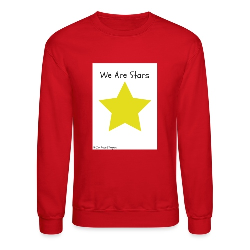 Hi I'm Ronald Seegers Collection-We Are Stars - Crewneck Sweatshirt