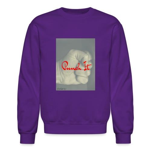 Punch it by Duchess W - Crewneck Sweatshirt