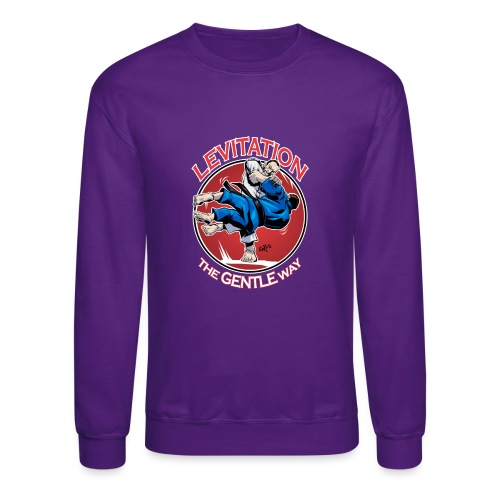 Judo Levitation for dark shirt - Crewneck Sweatshirt