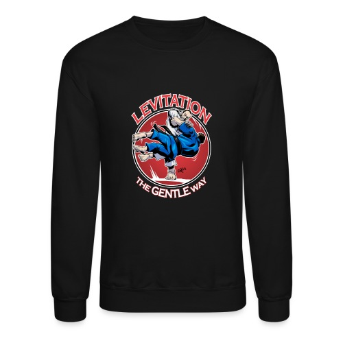 Judo Levitation for dark shirt - Unisex Crewneck Sweatshirt