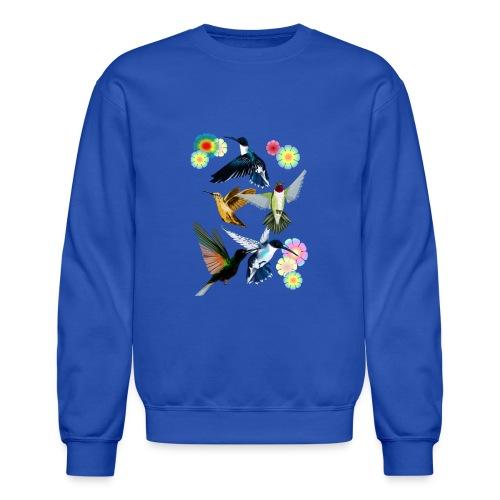 For The Love Of Hummingbirds - Crewneck Sweatshirt