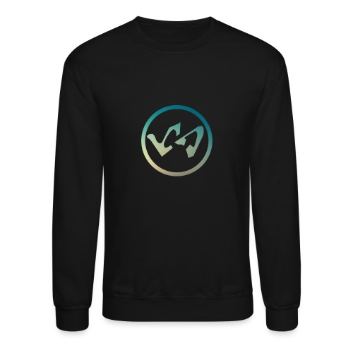 Logo Modern Blue - Crewneck Sweatshirt