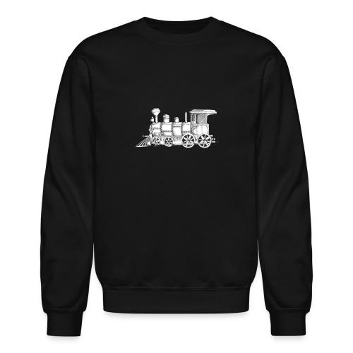 steam train - Crewneck Sweatshirt