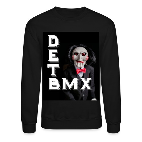 DET - Saw Mask - Crewneck Sweatshirt