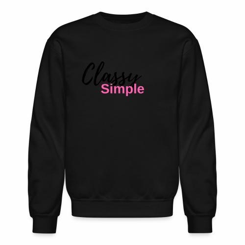 Classy Simple - Crewneck Sweatshirt
