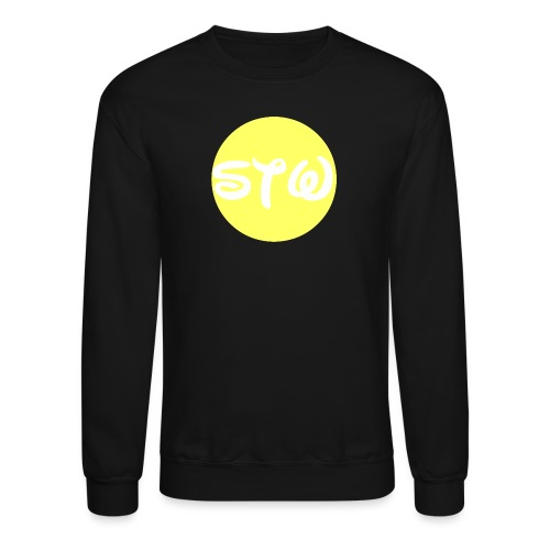 STW YELLOW LOGO - Crewneck Sweatshirt