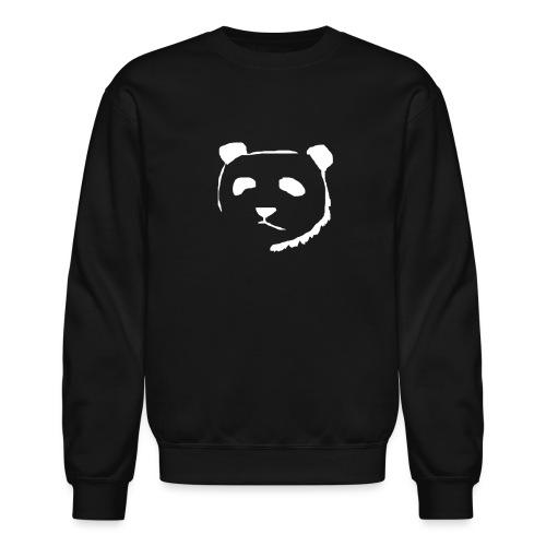 Panda Face WHITE - Crewneck Sweatshirt